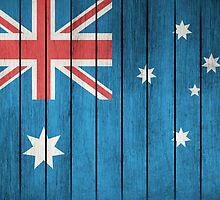 Flag Of Australia by Olga Altunina