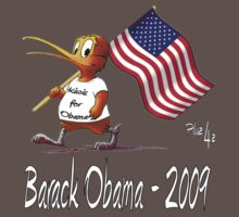 Kiwis for Obama by Linda Bassett