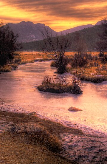 A New Years Sunrise by John  De Bord Photography