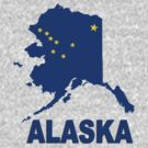 ALASKA STATE MAP by peteroxcliffe