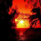 Molokai Sunset '95 by wesbennett100