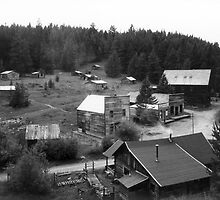 ~ Garnet Ghost Town, Montana ~ by Tim Denny