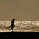Views From The Beach : The Runner by artisandelimage