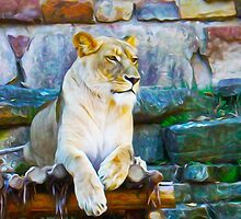 The Lioness - Queen of the Jungle By Aspen Willow by AspenWillow