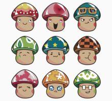 The Mushroom Friends Kids Clothes