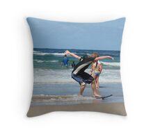 Local Skimmer Throw Pillow