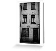 Old Building Greeting Card