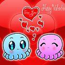 True Love: Tako-Chan V Day Card by Vestque