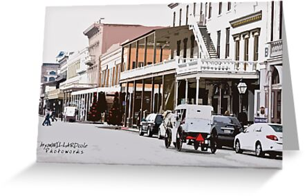 Sunday In Old Sacramento by Bryan Cole