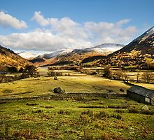 The Hartsop Valley - Cumbria by eddiej