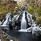 Colwith Force, Lake District National Park by Steve  Liptrot