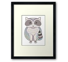 Raccoon Framed Print
