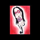 Rockstar Caricature Drawing Dark Gothic Metal by MMPhotographyUK
