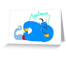 Genie Greeting Card