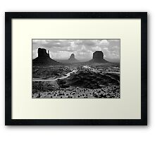 Monumental Framed Print