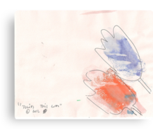 TULIPS THIS WAY(C2012) Canvas Print