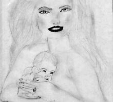 Catherine Zeta Jones & her Baby by WaleskaL