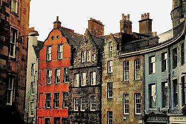 Edinburgh skyline by Agnes McGuinness