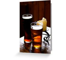 A Pint Or Two Greeting Card
