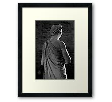 """""""Back"""" To The Future Framed Print"""