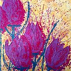 Purple Tulips by Wendy Sinclair