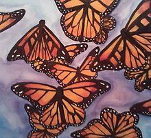 butterflies make me smile by Samantha Bearden