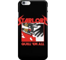 Quill 'em All iPhone Case/Skin