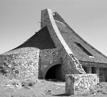 Pyramid Lake Paiute Tribe Museum and Visitor Center by Harry Snowden