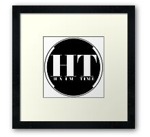 HAIM TIME (White Backing) Framed Print