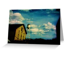 Painting the Sky with the Passage of Time Greeting Card