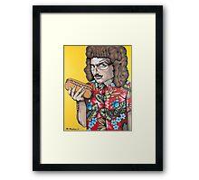 Weird Vincent Framed Print