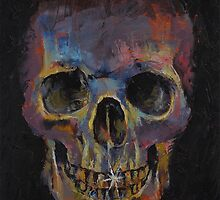 Metallic Skull by Michael Creese