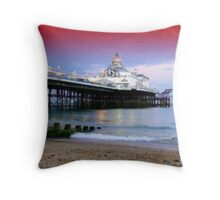 The Pier, Eastbourne  Throw Pillow