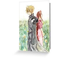 Cloud + Aeris Greeting Card