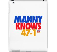Manny Pacquiao - 'MANNY KNOWS' Parody iPad Case/Skin