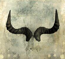 Wildebeest Horns by Antaratma Images