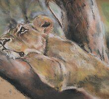 """Lioness"" by LorusMaver"