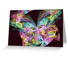 Apophysis Fractal 11 Greeting Card