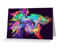 Apophysis Fractal 12 Greeting Card