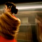 New York Subway Rider #3 by RonnieGinnever
