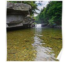 Bartlett Falls, Bristol, Vermont Poster