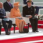 "Her Majesty the Queen officially named Britannia in Southampton"" by Keith Larby"