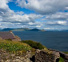 Old Village, Ballinskelligs,Co. Kerry Ireland. by Teddy  Sugrue