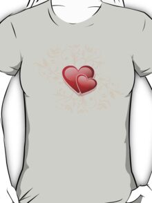 Valentine Decorative T-shirt - Two Hearts, Two Souls T-Shirt