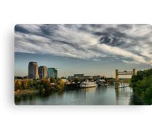 Sacramento Waterfront Canvas Print