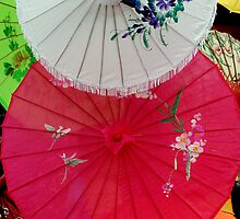 Parasols 1 by Rodney Williams