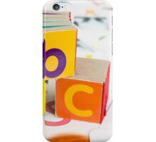 Alphabet Blocks iPhone Case/Skin