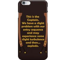 Slight Turbulence iPhone Case/Skin