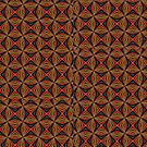 Red, Green And Gold Repeating Pattern by taiche