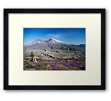 Mount St Helens Framed Print